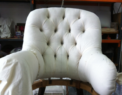 Bespoke Traditional and Modern Upholstery, deep buttoning